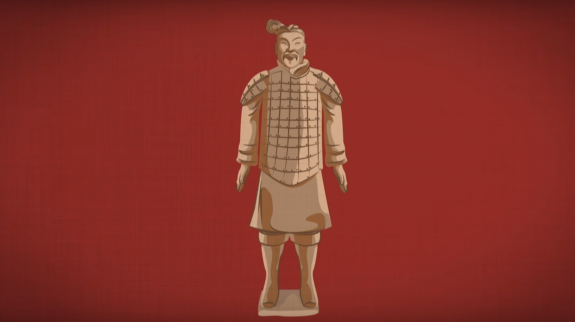 TED-Ed Terracotta warrior image